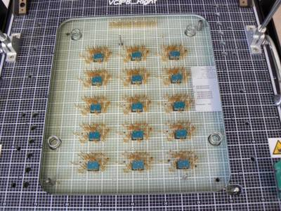 PCB-Test Probe Access Plate makes debugging